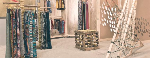 fashion brand pop-up store independent brand